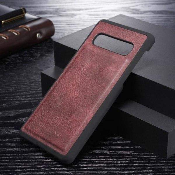 DG.MING Fodral 2-i-1 Split för Samsung Galaxy S10 Röd