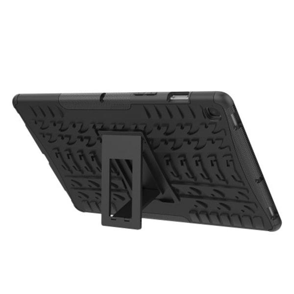 """Däckmönstrat TPU Skal för Galaxy Tab S5e 10.5"""" - Svart"""