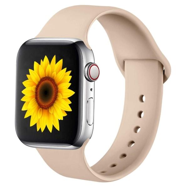 Armband för Apple Watch 3-2-1 38mm & 6-5-4-SE 40mm - Beige