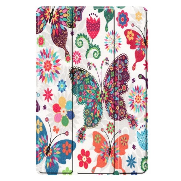 Tri-fold Fodral för Samsung Galaxy Tab S5e - Fjärilar