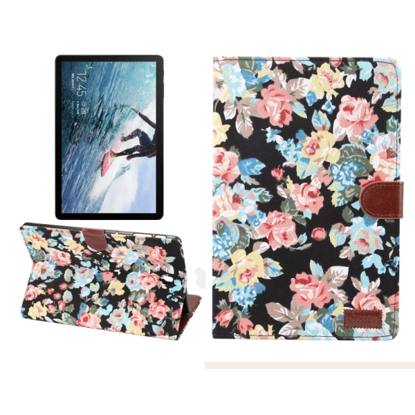 Blommigt Fodral för Samsung Galaxy Tab S4 10.5
