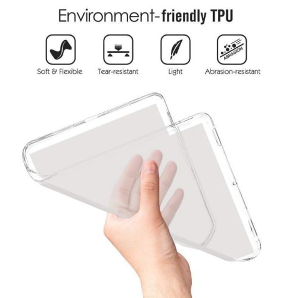 "TPU Skal för Samsung Galaxy Tab S5e 10.5"" - Transparent"
