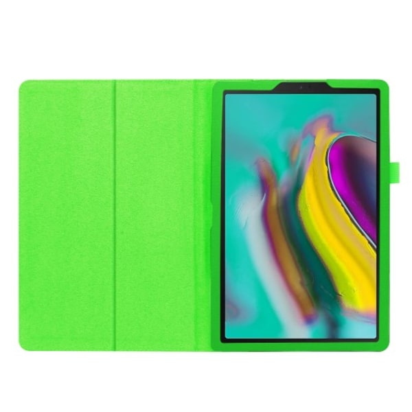 "Litchi Fodral för Samsung Galaxy Tab S5e 10.5"" - Grön"