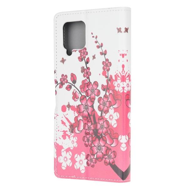 Fodral för Samsung Galaxy A42 - Blomma