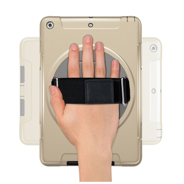 """Heavy Duty Hybridskal med Stativ för iPad Pro 9.7"""" - Guld"""