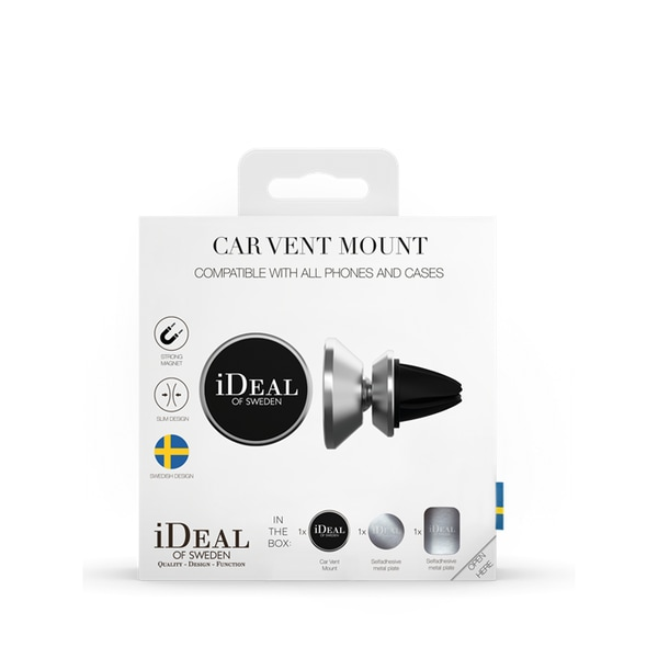 iDeal of Sweden Car Vent Mount universal - Silver