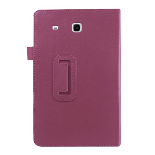 Litchi fodral för Samsung Galaxy Tab E 9.6 - lila