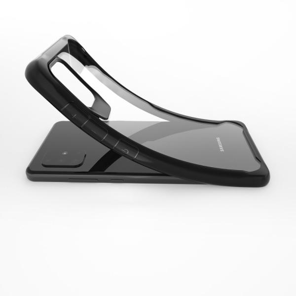 Shock-proof Hybridskal for Samsung Galaxy A51 - Svart