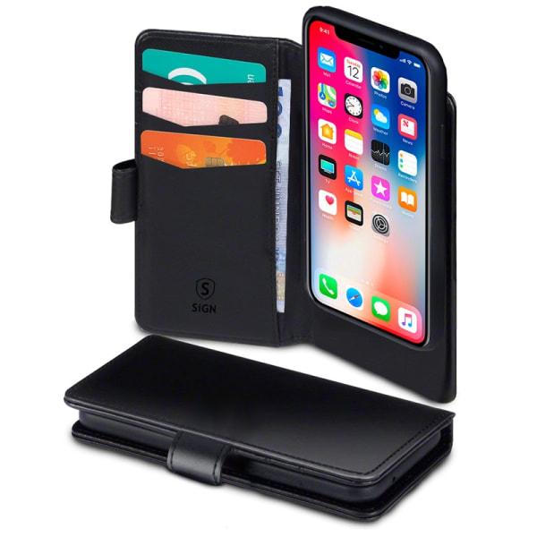 SiGN Plånboksfodral 2-in-1 för iPhone 11 Pro Max - Svart