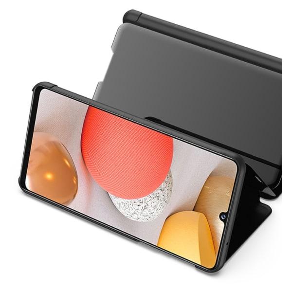 View Window Fodral för Samsung Galaxy A42 - Svart