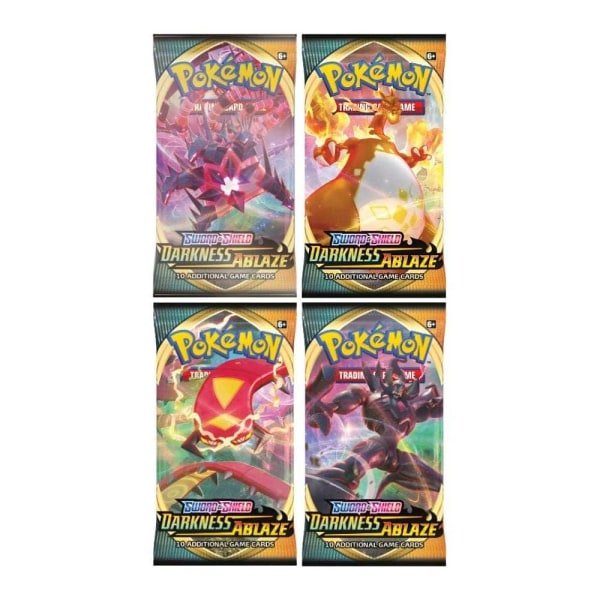 1x Pokemon Sword & Shield Darkness Ablaze Booster Pack