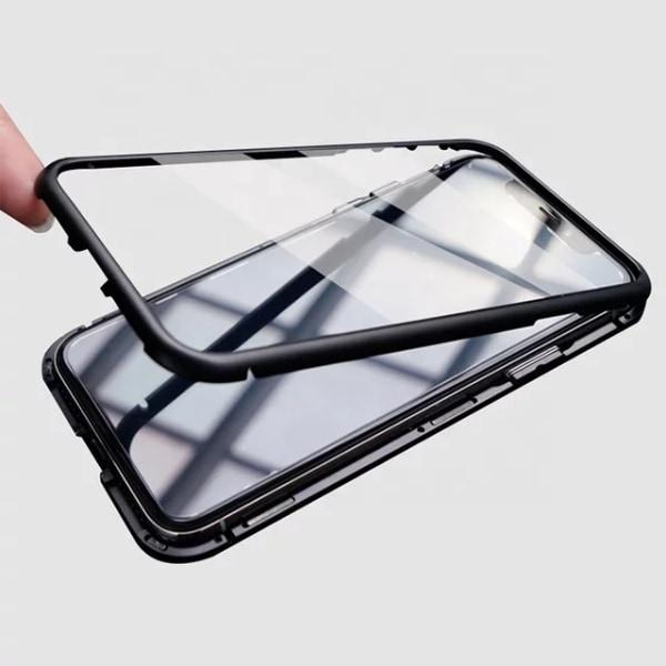Magnetiskt heltäckande skal, Iphone 8 , Svart