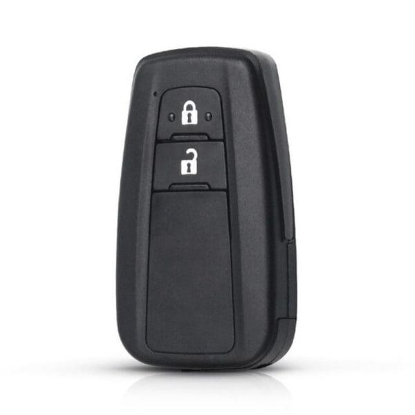 Toyota fjärrnyckelskal Camry Prius C-HR Avalon Black 2 buttons
