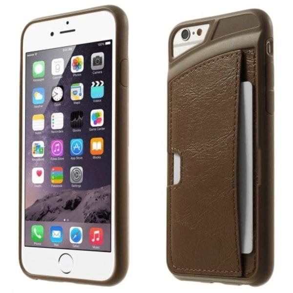 Skal med kreditkorts hållare till iPhone 7 / 8 - flera färger Rosa
