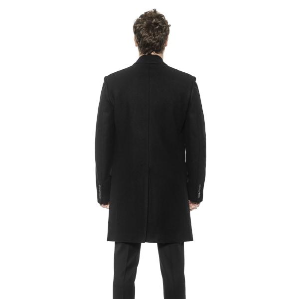 Coat Black Les Hommes Man IT 52 - XL