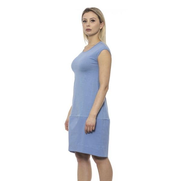 Dress Blue Alpha Studio Woman UK 6 - XS