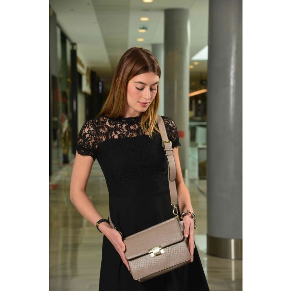 Handbag Beige Valentino by Mario Valentino Woman Unique