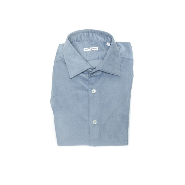 Shirt Blue Robert Friedman Man 41