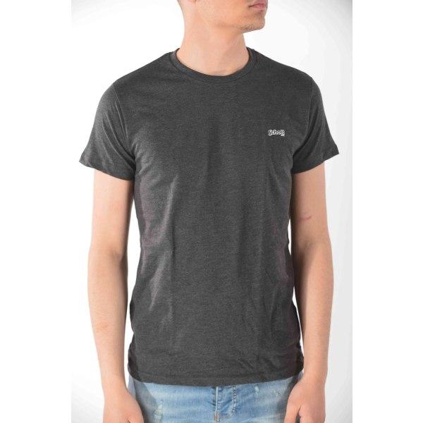 Short sleeve t-shirt Anthracite Schott Man L
