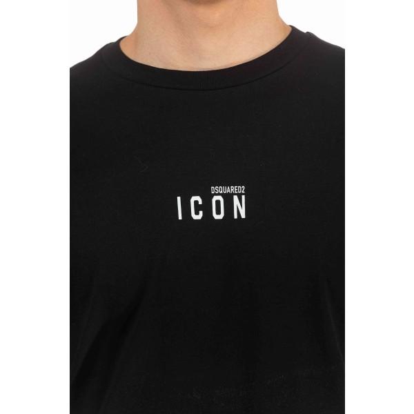 Short sleeve t-shirt Black Dsquared2 Man S