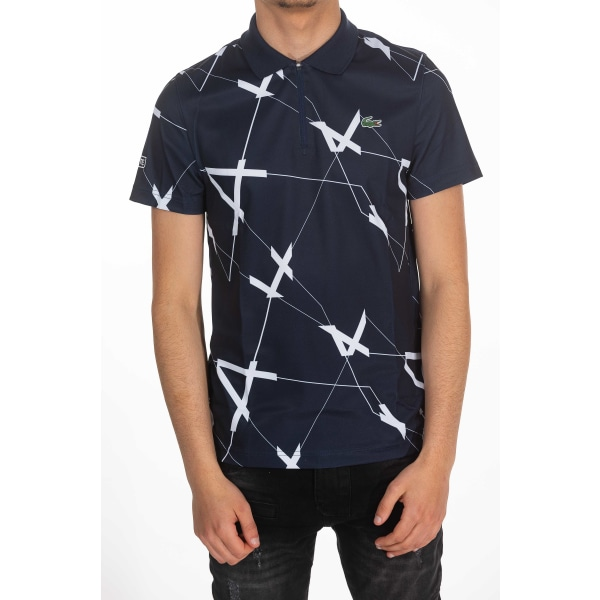 Short sleeves polo Navy Blue Lacoste Man L