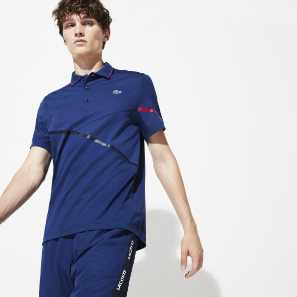 Short sleeves polo Navy Blue Lacoste Man S