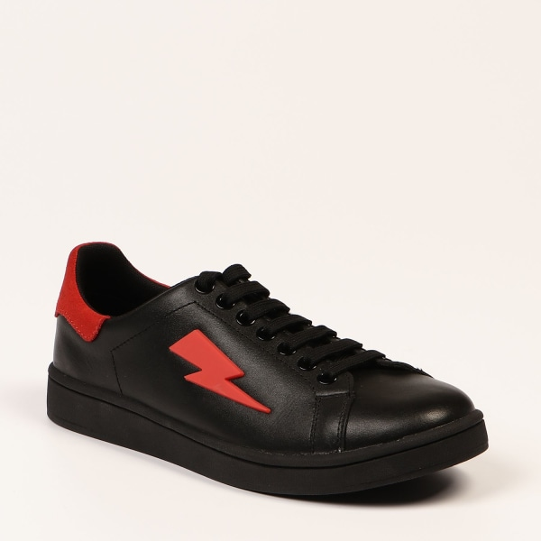 Sneakers Black Neil Barrett Woman 37 EU - 4 UK