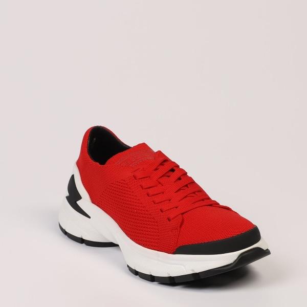 Sneakers Red Neil Barrett Man 42 EU - 8 UK