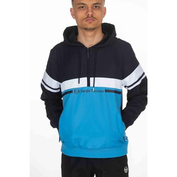 Sweatshirt Navy Blue Sergio Tacchini Man XXL