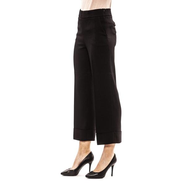 Trousers Black Peserico Woman UK 16 - XXL