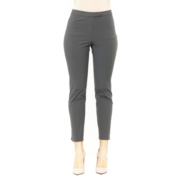 Trousers Blue Peserico Woman UK 10 - M