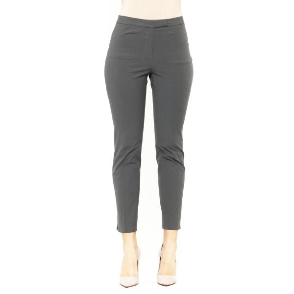 Trousers Blue Peserico Woman UK 8 - S