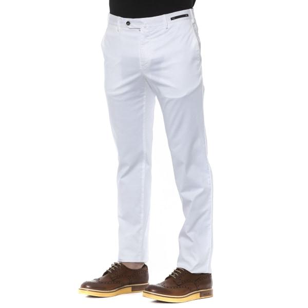 Trousers White PT Torino Man IT 56 - XXXL