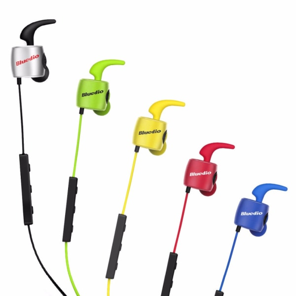 Bluedio TE Bluetooth 4.1. Sport headset. Gul