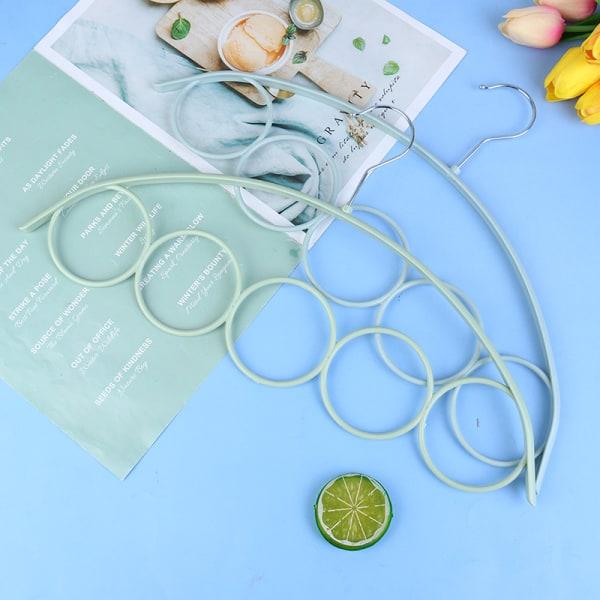 1-deligt halsdukhängare för halsdukar Plastcirklar halsbandssjal