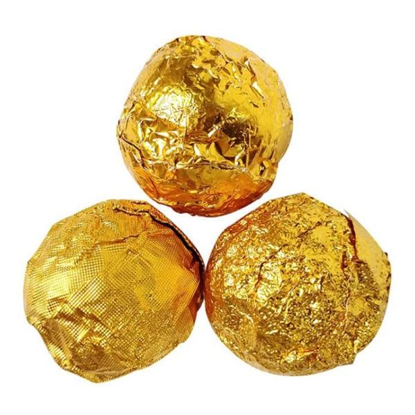 100st folie godisförpackning papper choklad aluminium godis socker f
