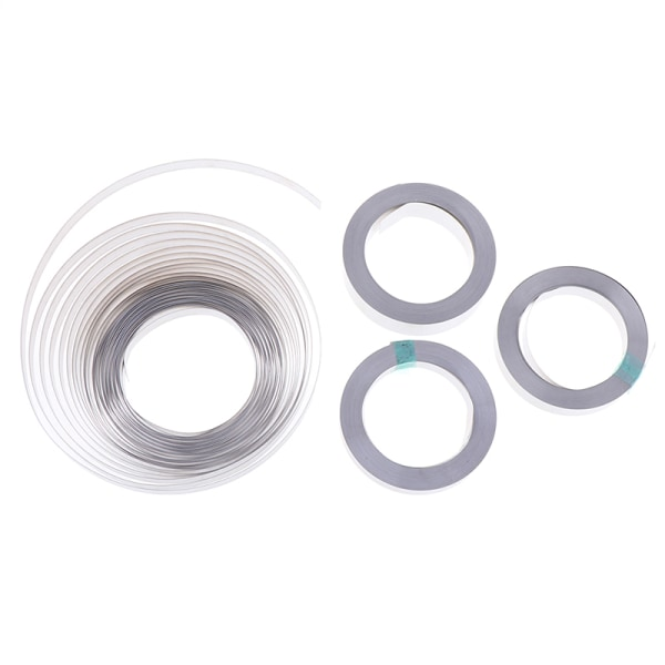 10M 8/10/15 mm ren nickelband för Li 18650 batterispot