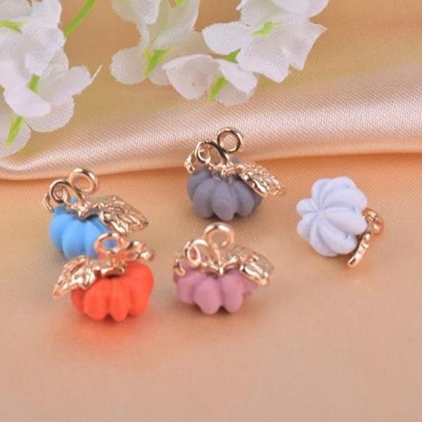 10st 3d pumpa berlocker hänge DIY örhängen halsband smycken ma