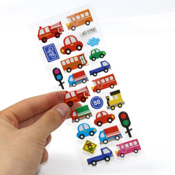 10st tecknad bubbla klistermärken barn klassiska leksaker klistermärke Chr