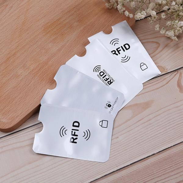 10st RFID kredit ID-korthållare blockerande skyddsfodralskydd