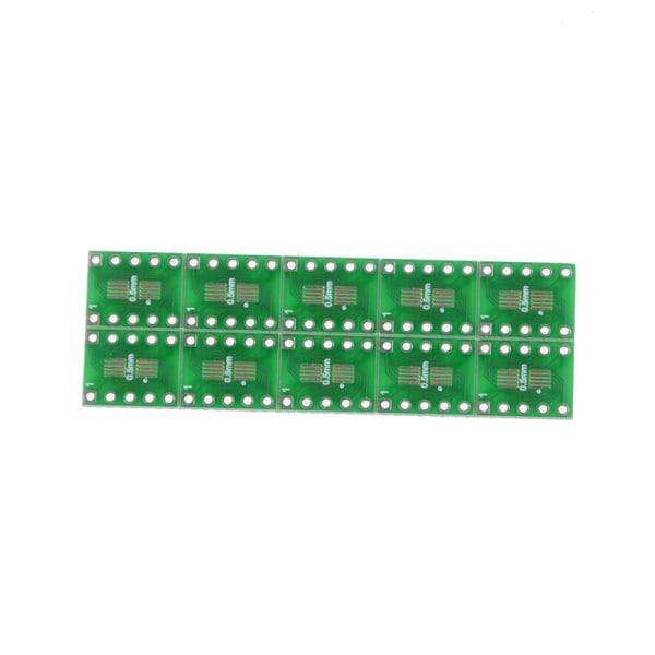 10ST SOT23 SOP10 MSOP10 Umax SOP23 till DIP10 Pinboard PCB Board