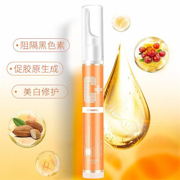 15 ml C-vitaminborttagningsgelblekning mot fräknar grädde