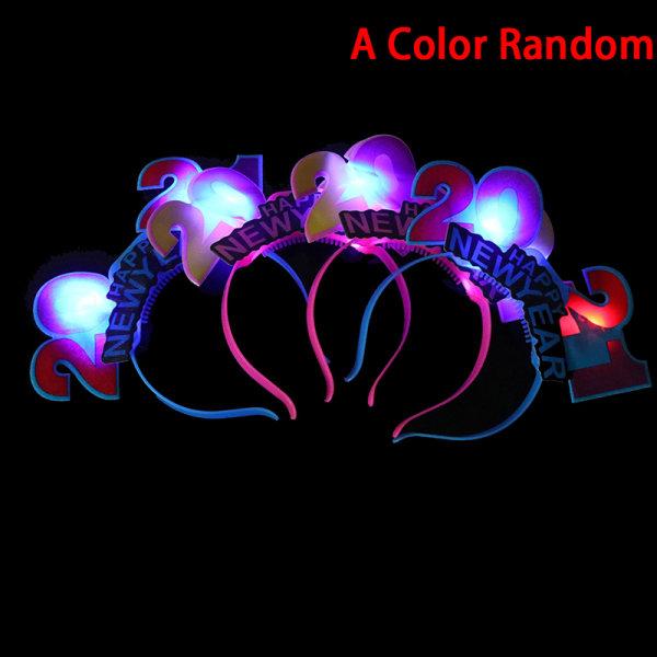 1PC Blinkande Glödande Pannband Blinkande Slitage Bröllopsfödelsedag Pa
