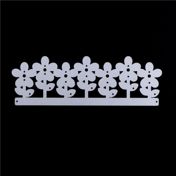 1 st Blommor serie Metallskärande DIY DIY Scrapbooking Embossin