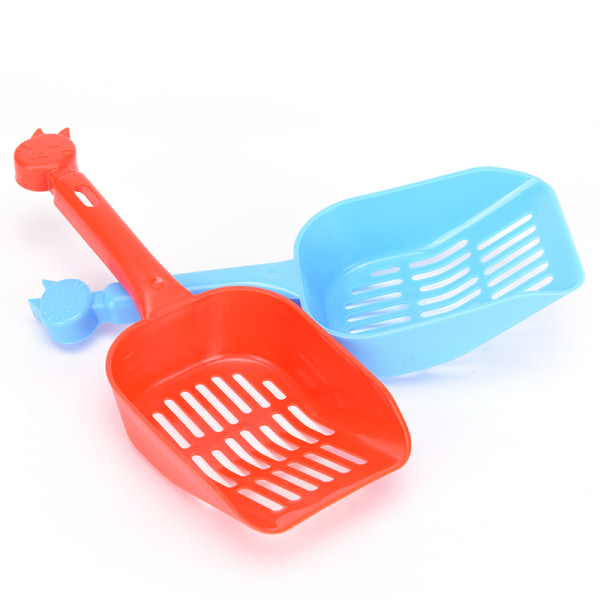 1 st Plast Cat Kitty Litter Shovel Poop Scoop Cat Owners Tillägg