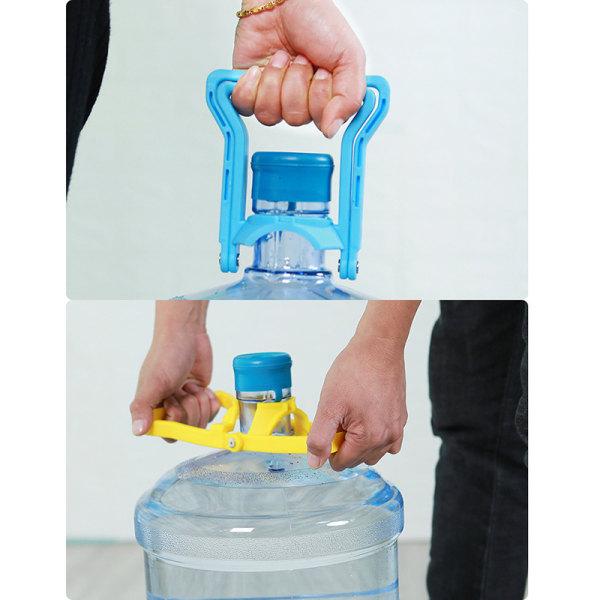1PCS vattenbärande flaska vattenhandtag vatten upprörd flaskhink