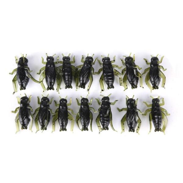 20st mjuka fiske lockar Pesca lättvikts cricket insekt lock