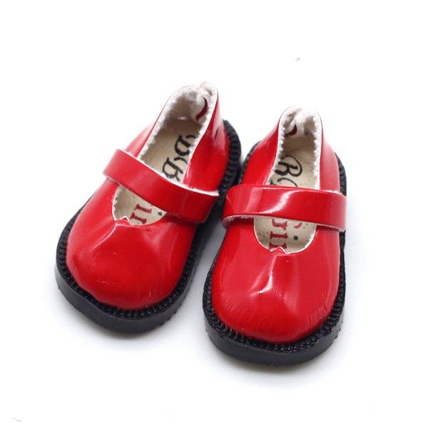 3,2 cm docka bowknot skor för mini läderskor för kläder Ac