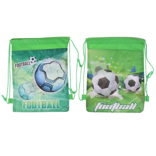 1 st fotbollsförvaringsväska non-woven fabric dragsko påse utomhus B