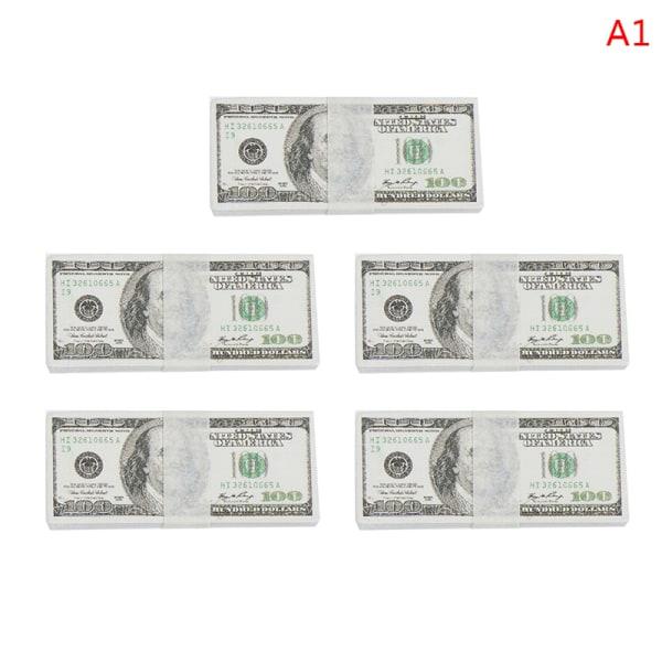 5 buntar 1:12 Dollhouse Miniature Play Money Mini Doll House B
